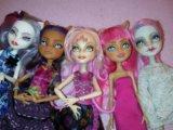 Monster high коллекция кукол. Фото 1.