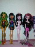 Monster high коллекция кукол. Фото 4.