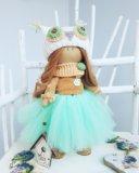 Интерьерная кукла ручной работы. Фото 2.