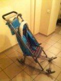 Санки-коляска geburt. Фото 3.
