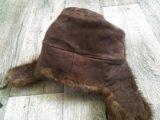 Норковая шапка ушанка. Фото 3.