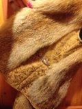 Новая жилетка из лисы. Фото 1.