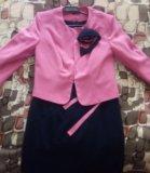 Платье+ пиджак. Фото 1.