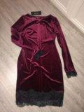 Платье новое бархат. Фото 1.