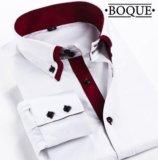 Рубашка с красной планкой. Фото 1.