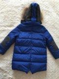 Пуховик на мальчика 4-6 лет. Фото 2.