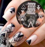 Штамп для дизайна ногтей. Фото 1.