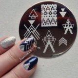 Штамп для дизайна ногтей. Фото 3.