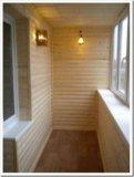 Отделка балконов. Фото 1.
