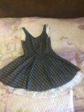 Платье 42-44 800р. Фото 1.