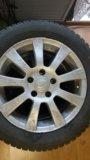 Зимние шины на дискак тойота р 16. Фото 1.