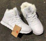 Кроссовки новые зима. Фото 1.