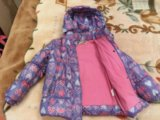 Утепленная куртка для девочки. Фото 3.