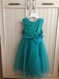 Платье детское нарядное. Фото 1.