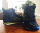 Сапожки зимние adidas. Фото 2.