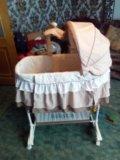 Кровать люлька. Фото 1.