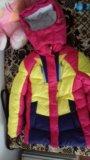 Зимний костюм для девочки. Фото 1.