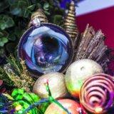 Новогодний шар для праздничной ёлки стрелец. Фото 1.