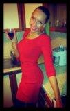 Элегантное красное платье love republic. Фото 1.