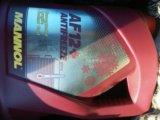 Антифриз красный mannol. концентрат. Фото 1.
