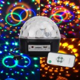 Новогодний диско шар. Фото 1.