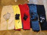 Яркие мембранные 10000 штаны dark horse (48-50). Фото 3.