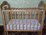 Кровать-маятник с матрасиком. Фото 2.