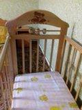 Кровать-маятник с матрасиком. Фото 3.