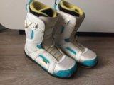 Ботинки для сноуборда 44-45. Фото 1.
