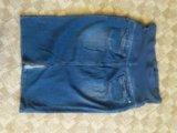 Джинсовая юбка для беременных. Фото 2.