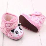 Пинетки-ботинки розовые, панда - новые!. Фото 1.