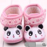 Пинетки-ботинки розовые, панда - новые!. Фото 3.