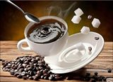 "Алмазная мозаика ""чашка кофе"". Фото 1."