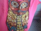 Или обмен футболка с совой с пайетками joy. Фото 3.
