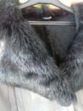 Дубленка натуральная, мех тоскана р. 42-46. Фото 2.