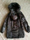 Куртка для беременных, слингокуртка, 3в1. Фото 3.