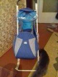 Санки -коляска. Фото 1.