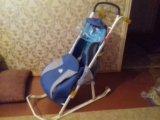 Санки -коляска. Фото 4.