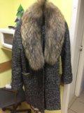Зимнее пальто с натуральным мехом 👌🏻. Фото 2.