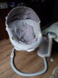 Люлька-качалка,кресло для младенцев. Фото 1.