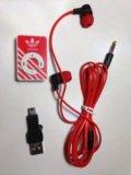 Mp3 плеер + зарядка + наушники. Фото 1.