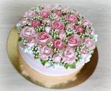Свадебный торт. Фото 4.