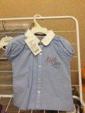 Рубашка на девочку. Фото 1.
