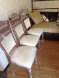 Новый стол обеденный со стульями. Фото 4.