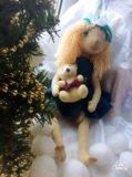 Текстильная кукла. Фото 1.