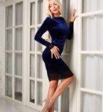 Новое бархатное платье. Фото 3.
