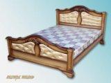 Кровать из массива. Фото 1.