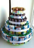 Торт на день рожденье в сад. Фото 2.