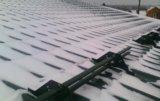 Установка снегозадержателя. Фото 2.