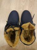 Ботинки зимние 39р. Фото 1.